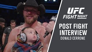 "UFC Ottawa: Donald Cerrone - ""Ya Never Know Which Cowboy's Going To Show Up"""