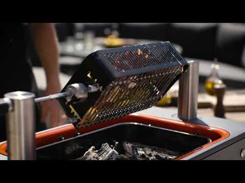 Rotisserie Lobster - Using the rotisserie cage on the FUSION™/HUB™