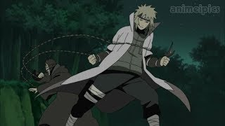 The Fourth Hokage's Death Match | Minato VS Tobi