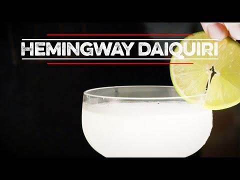 Jak namíchat Hemingway Daiquiri