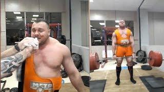 Иван Макаров готовится к мировому рекорду весом 505 кг.Этот парень идёт к цели буквально на глазах.