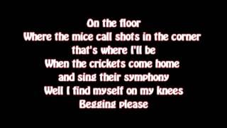 Brandon Flowers - On The Floor (Lyrics on screen)