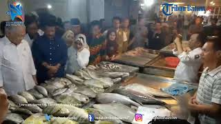 Sidak di Pasar Pujabahari Batam, Menteri Perdagangan Langsung Tanya Harga Sayuran