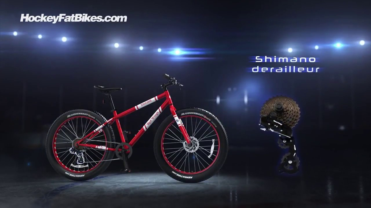 Detroit Red Wings® Edition NHL® FatBike