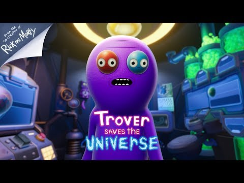 Trover Saves the Universe |  Release Date Trailer - UNCENSORED thumbnail