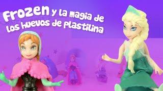 Huevos Sorpresa | Frozen y la magia de Play Doh y la plastilina