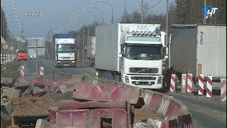 Завершился ремонт трассы М10 в районе деревень Миронеги и Немчинова Гора