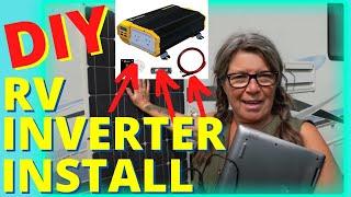 Installing a New RV Power Inverter for my Solar System