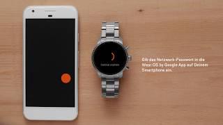 Wie Du Deine Fossil Smartwatch der 4. Generation einrichtest V2