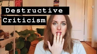 How To Deal With Destructive Criticism   PhD  academia