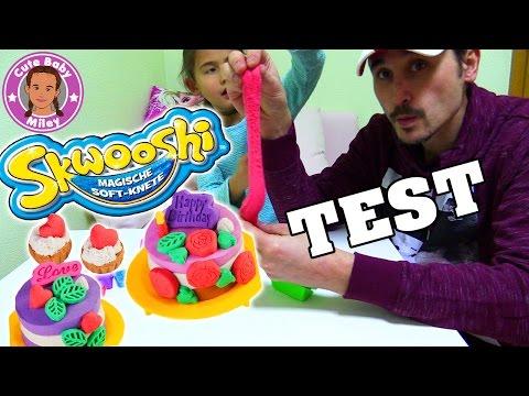 SKWOOSHI MAGISCHE KNETE | wir testen das Backset | CuteBabyMiley