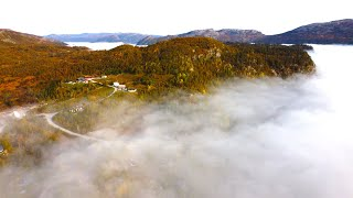 A trip above the clouds 4K Dji Phantom 4 adv + Mavic Mini footage Norway