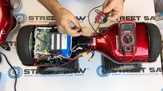 How to Test Hoverboard Battery w/ Multimeter & Replace