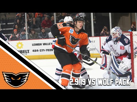 Wolf Pack vs. Phantoms | Feb. 9, 2019