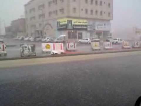 عاصفة مطرية مخيفة  في جدة 2009