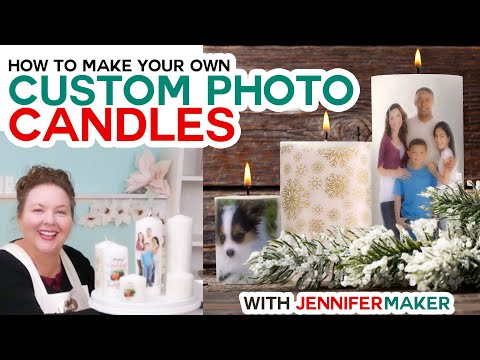 , title : 'DIY Personalized Candles - How to Transfer Images & Photos to Wax Candles!