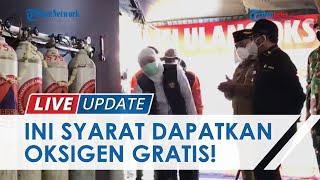 Gubernur Jatim Khofifah Tambah Titik Pengisian Oksigen Gratis untuk Warga, Berikut Syaratnya!