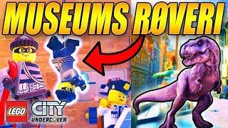 MUSEUMS RØVERI - STJÆLER T-REX ROBOT - LEGO CITY UNDERCOVER - [#11]