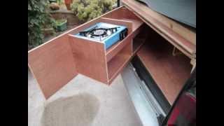 Citroen Berlingo / Peugeot Partner BOOT CAMPER design & construction