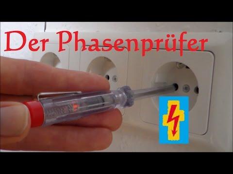 Der Phasenprüfer - Spannungsprüfer - oder auch Lügenstift