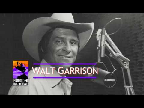 2018 ProRodeo Hall of Fame Inductee Walt Garrison