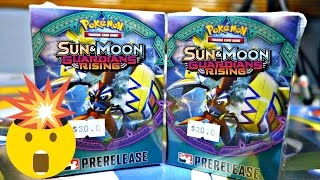 INCREDIBLE - Pokemon Guardians Rising TCG Prerelease Box Opening! by JordanJapanNintendoFan