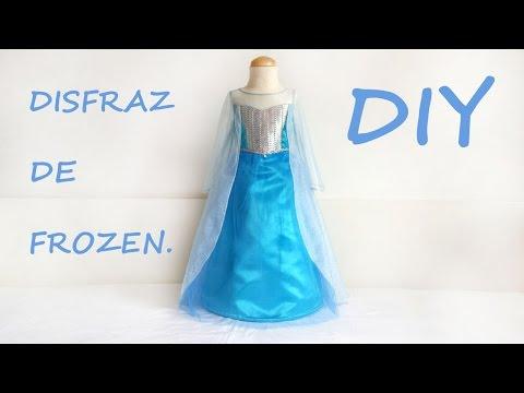 Disfraz frozen. Hazlo tu misma.