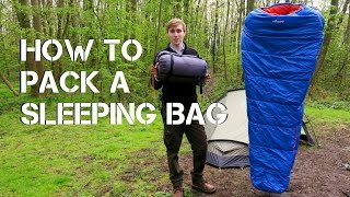 How To Pack a Sleeping Bag | Tips & Tricks