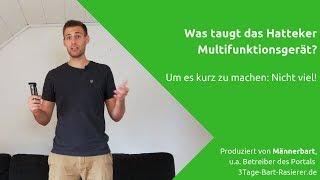 Hatteker Bartschneider im Test: Was taugt das günstige Multifunktionsgerät?