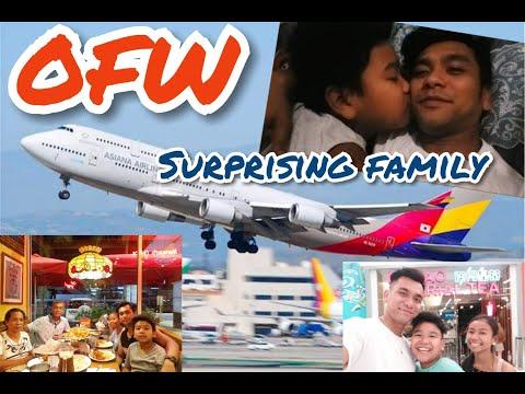 OFW SINORPRESA ANG PAMILYA | BUHAY OFW