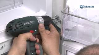 Bauknecht - Kühlschrank einbauen mit Festtürmontage | Erhältlich bei moebelplus