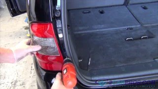 Brake Light Bulb Replacement Mercedes Benz ML
