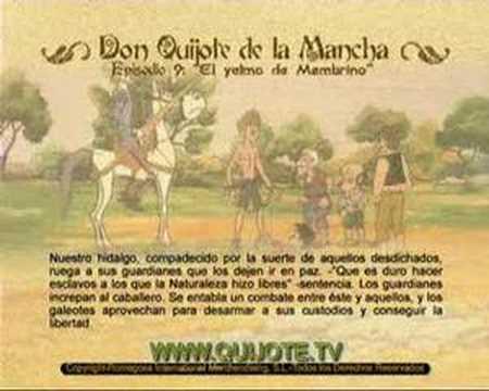 Videocuento Epis.#09 Resumen DON QUIJOTE DE LA MANCHA (1979) - QUIXOTE