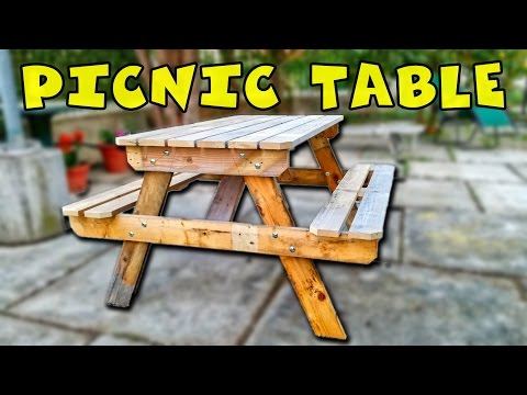 The traditional picnic table - Tavolo da picnic