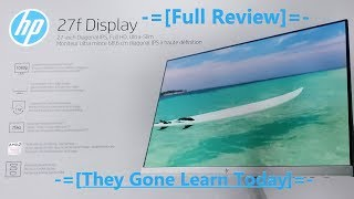 Perfect 1080p Display HP 27f IPS - Full Review
