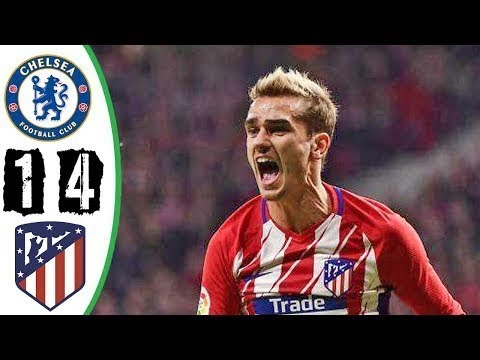 Chelsea vs Atletico Madrid 1-4 - All Goals & Highlights (Last Match) HD