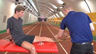 Elastoplast: How To Strap The Ankle With The AIS (Australian Institute Of Sport)