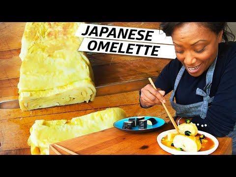 Chef Nyesha Arrington Makes Tamagoyaki, a Traditional Japanese Omelette — Improv Kitchen