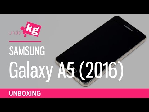 Samsung Galaxy A5 (2016) Unboxing [4K]