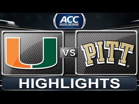 Miami vs Pittsburgh | 2013 ACC Football Highlights