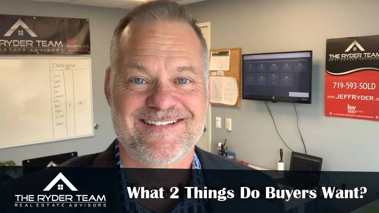 A Few Specific Things Homebuyers Want