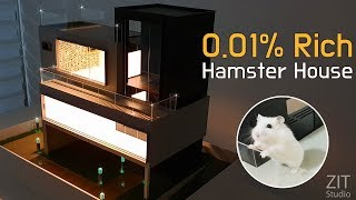 Making a hamster luxury house - YouTube