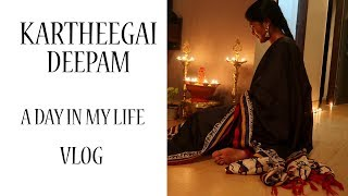 KARTHIGAI DEEPAM VLOG || A DAY IN MY LIFE || #100dayswithsowbii DAY61