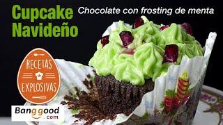 Cupcakes de Chocolate y Menta - Facil - Recetas Explosivas