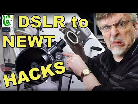 Attaching an SLR camera to your Newtonian Telescope