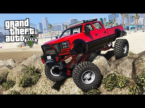 OFF ROADING!! IMPOSSIBLE OFF ROAD CHALLENGES!! (GTA 5 Mods)