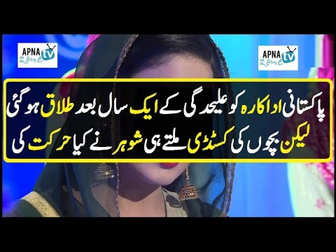 Pakistani Famous Actress after divorce what happen with kids