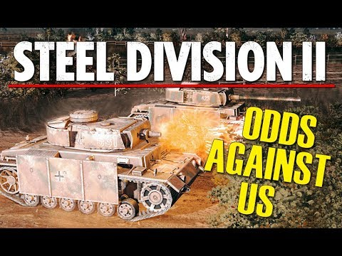 ODDS AGAINST US! Steel Division 2 Beta Breakthrough Gameplay (Orsha, Very Hard AI)