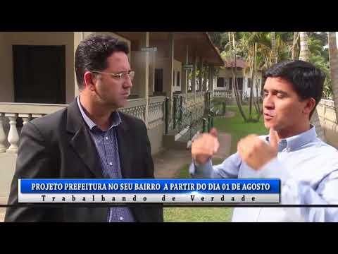 Prefeito Arizinho cria o programa atendimento noturno na Prefeitura de São Lourenço da Serra