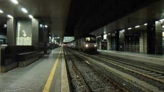 preview picture of video 'E402.035 in partenza con l' ICN 774 Roma Termini - Trieste Centrale'
